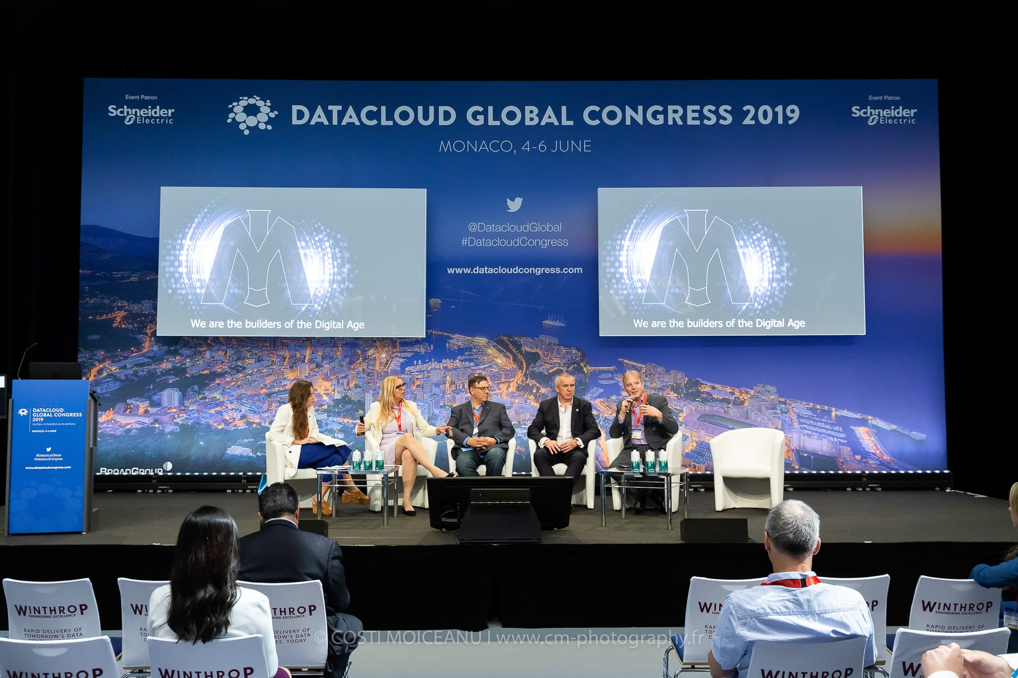 Data Cloud Monaco 2019 - Professional photographer on the Côte d'Azur